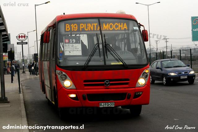 Transantiago - Buses Gran Santiago - Caio Foz / Mercedes Benz (BJFG30)