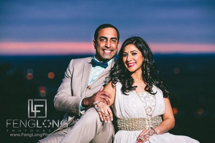 Vaishali & Vijay | Piedmont Park & Stone Mountain Engagement | Atlanta Indian Wedding Photographer