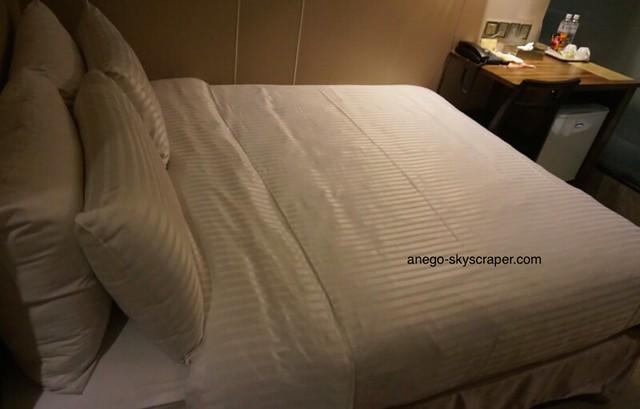 Relaxベッドが大きい