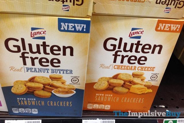 Lance Gluten Free Bite Size Sandwich Crackers