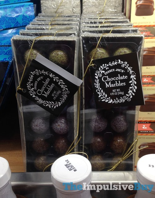 Trader Joe's Chocolate Marbles