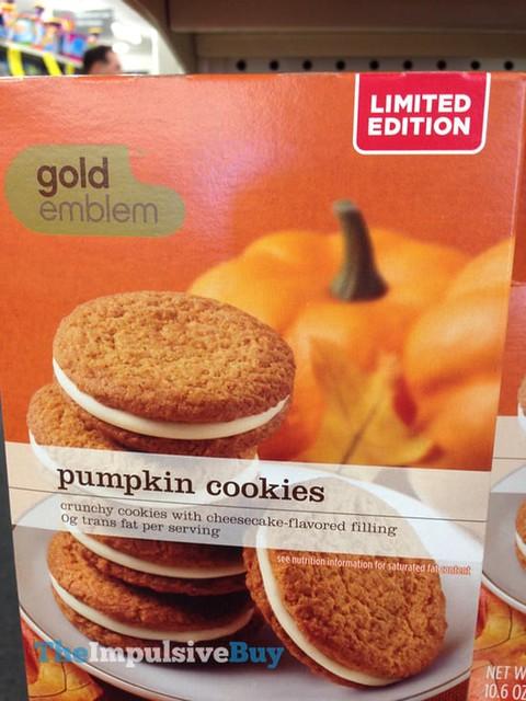CVS Gold Emblem Limited Edition Pumpkin Cookies
