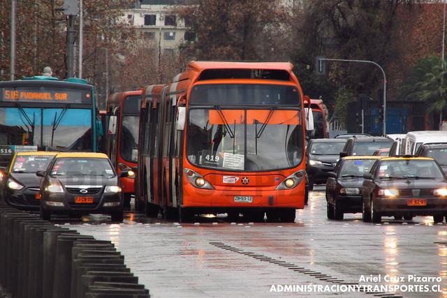 Transantiago - Express de Santiago Uno - Marcopolo Gran Viale / Volvo (ZN5312)