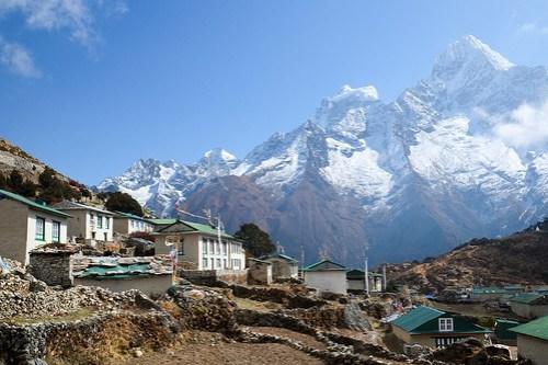 Khunde village