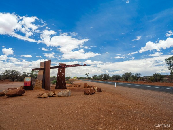 Road to Alice Springs