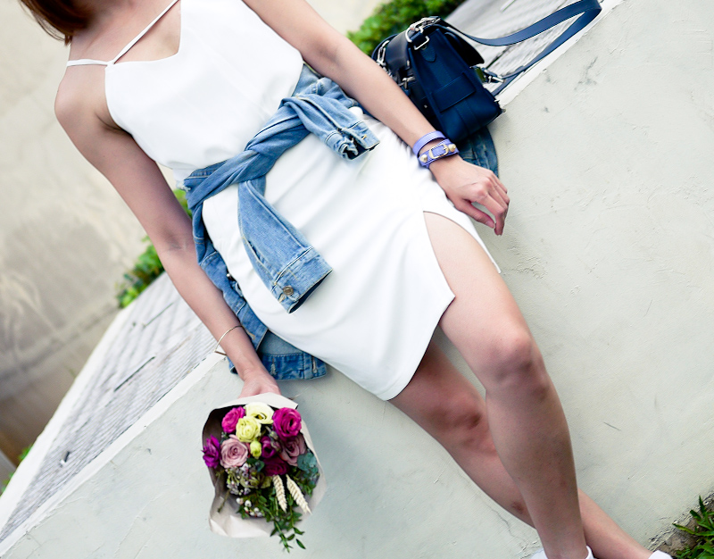 White Dress Ohvola Outfit
