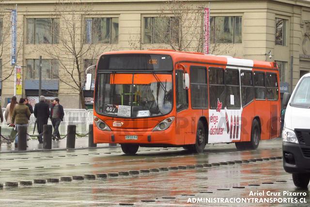 Transantiago - Express de Santiago Uno - Marcopolo Gran Viale / Volvo (ZN5043)
