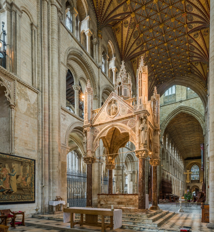 The Pillars Of The Earth Inside Englands Medieval Cathedrals 5 Minute History