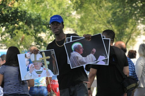 Pope Francis Parade, D.C. - Sept. 2015