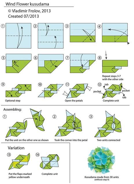 cool modular origami diagram kenworth t600 headlight wiring box diagrams doobclub com tutorials a gallery on flickr 6 unit