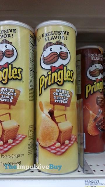 White Cheddar & Black Pepper Pringles (Target Exclusive)
