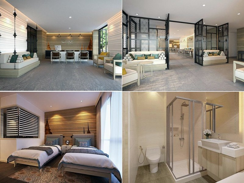 The 17 New open 5-star and 4-star Hotels in Chiang Mai in 2015, Thailand.