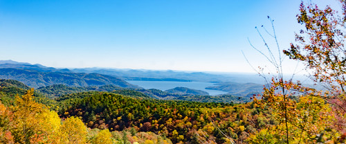 Lake Jocassee from Wiggington Road Overlook-001