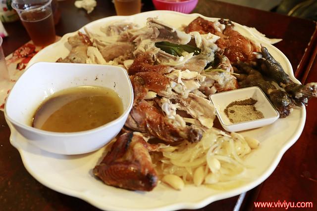 宜蘭,宜蘭美食,柴燒雞肉,烤雞,甕缸雞,番割田甕缸雞,美食 @VIVIYU小世界