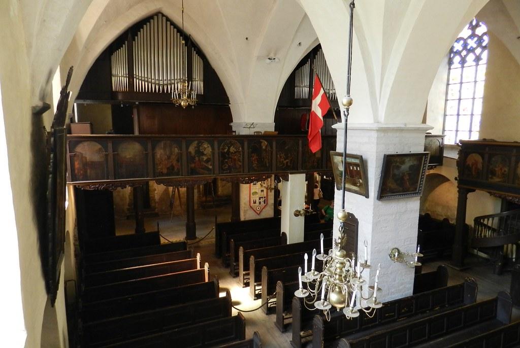 organo interior Iglesia Luterana del Espíritu Santo Tallin Estonia 10