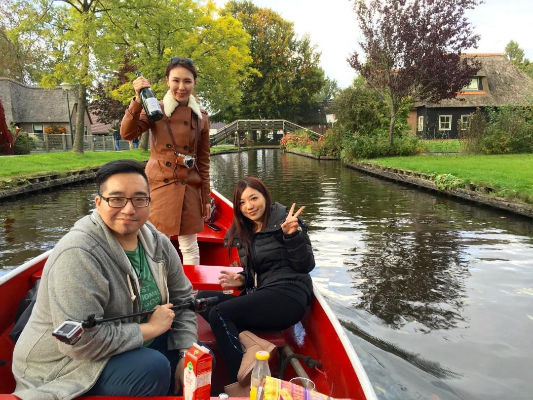 羊角村 Giethoorn, Nederland