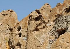 Kandovan inhabited cave stone dwellings, Iran