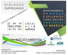 dialogos empresariais monitoramento aguas efluentes gesto ambiental negocio