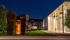 Kunstareal in München - Pinakothek der Moderne