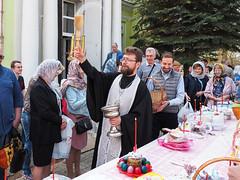 Освящение куличей в Великую Субботу (репортаж А. Орешина)
