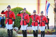 Celebraciones del 208 Aniversario de la Independencia de la República del Paraguay.