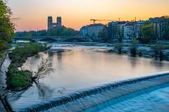 Isar in München - Munich