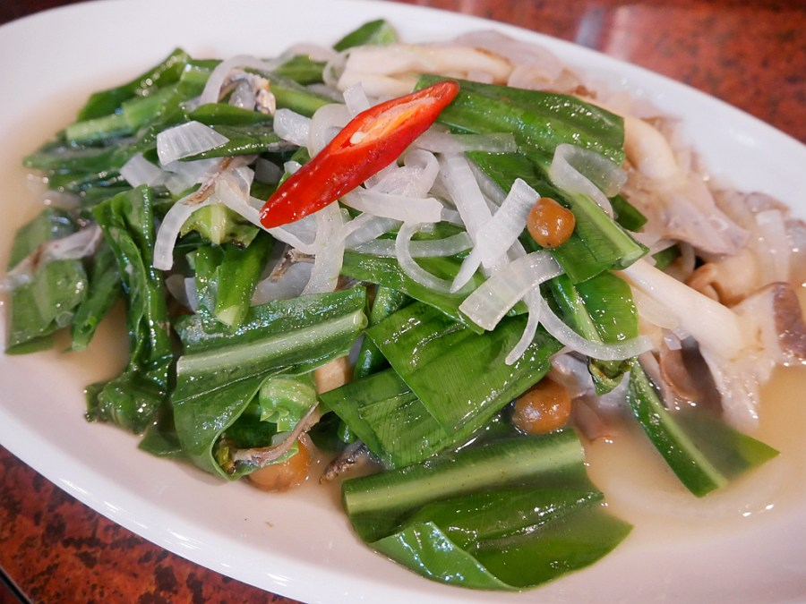[南投美食]老街仁城|南投名間傳統三合院料理~供應養生地瓜飯免費吃到飽 @VIVIYU小世界