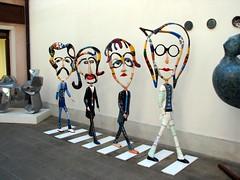 Venice glass Beatles