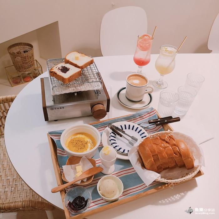 【臺北大安】cafemumi DIY自烤吐司 韓式網美咖啡店 捷運大安站 – 魚樂分享誌