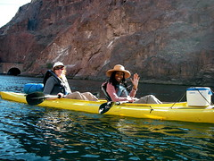 Kayaking with my PIC