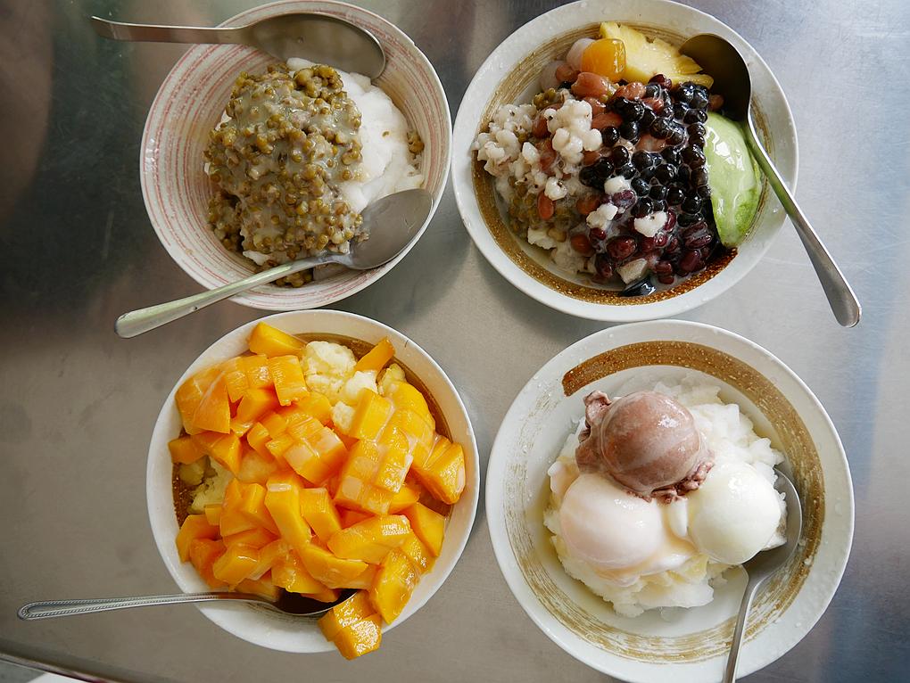 [南投美食]德意冰坊|綜合八寶冰有新鮮水果配料~夏季限定芒果牛奶冰 @VIVIYU小世界