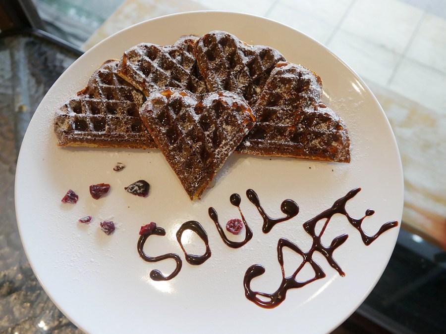 (關門大吉)[林口美食]SOUL CAFE 搜吉咖啡|超可愛拉花拿鐵咖啡~美好的午後時光.免費wifi、插座可使用 @VIVIYU小世界