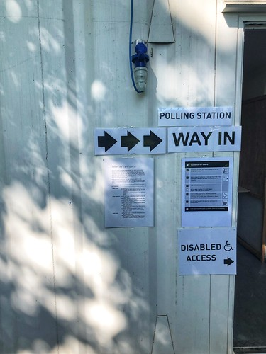 Today is all about...voted