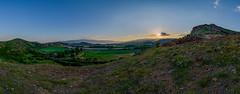 Sunset near Sandanski