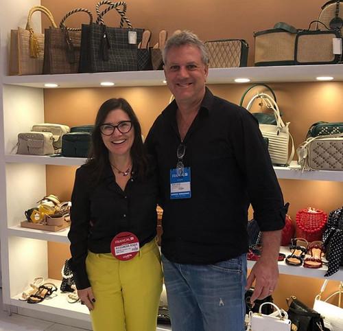 Com Mário Couri, da Luiza Barcelos