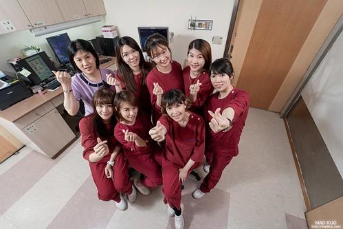 台北醫院-醫師護理師團體照