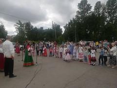 Народные гулянья в Павлино