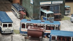 Teds Wood Bus Garage.