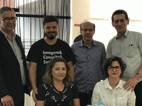 Ronaldo, Talles e Jussara,, Benedito Rocha, Mário Carvalho Neto e Elvira Nascimento