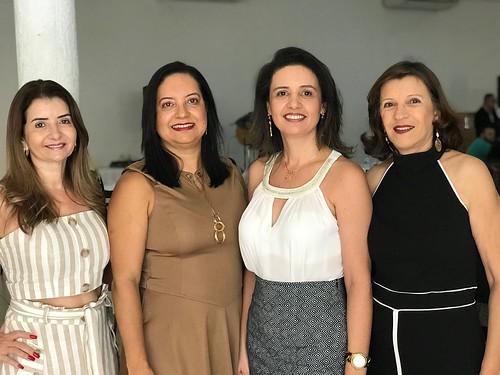 Rosane Franco, Regina Célia, Maria Angélica e Regina