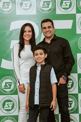 Camila, Luiz Filipe e o filho, Cauã