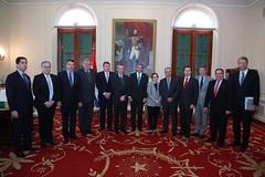 Audiencia a la delegación de autoridades de la República Federativa de Brasil
