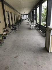 The Porch of the Hotel Cassadaga