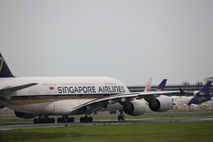 Singapore Airlines | Airbus A380 | SV-SKN | NRT / RJAA | 2019.7.20