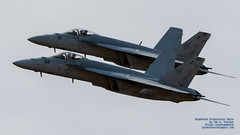 TWO RHINOS OF VFA-113 IN TIGHT