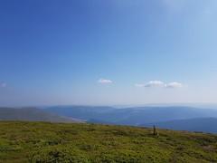 Vedere spre est din Sureanu