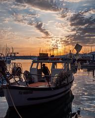 Une soirée au port