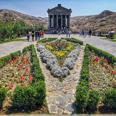 The Roman Temple at Garni in Armenia