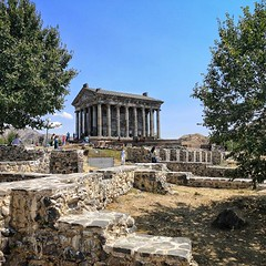 The Roman Temple at Garni
