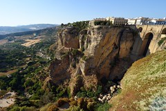 Puente Nuevo and gorge of Ronda, Spain